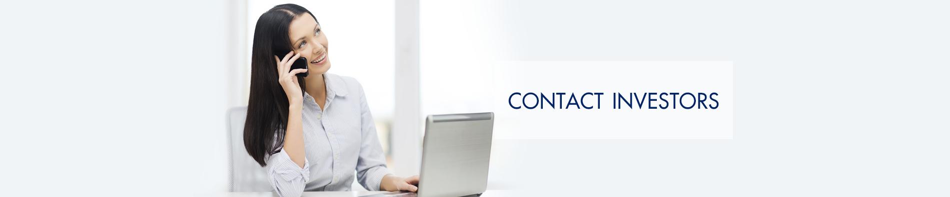 Banner Contact Investors